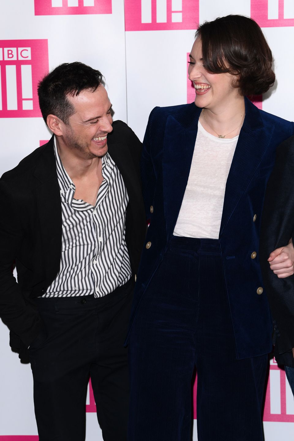 Andrew and Phoebe at the Fleabag series two