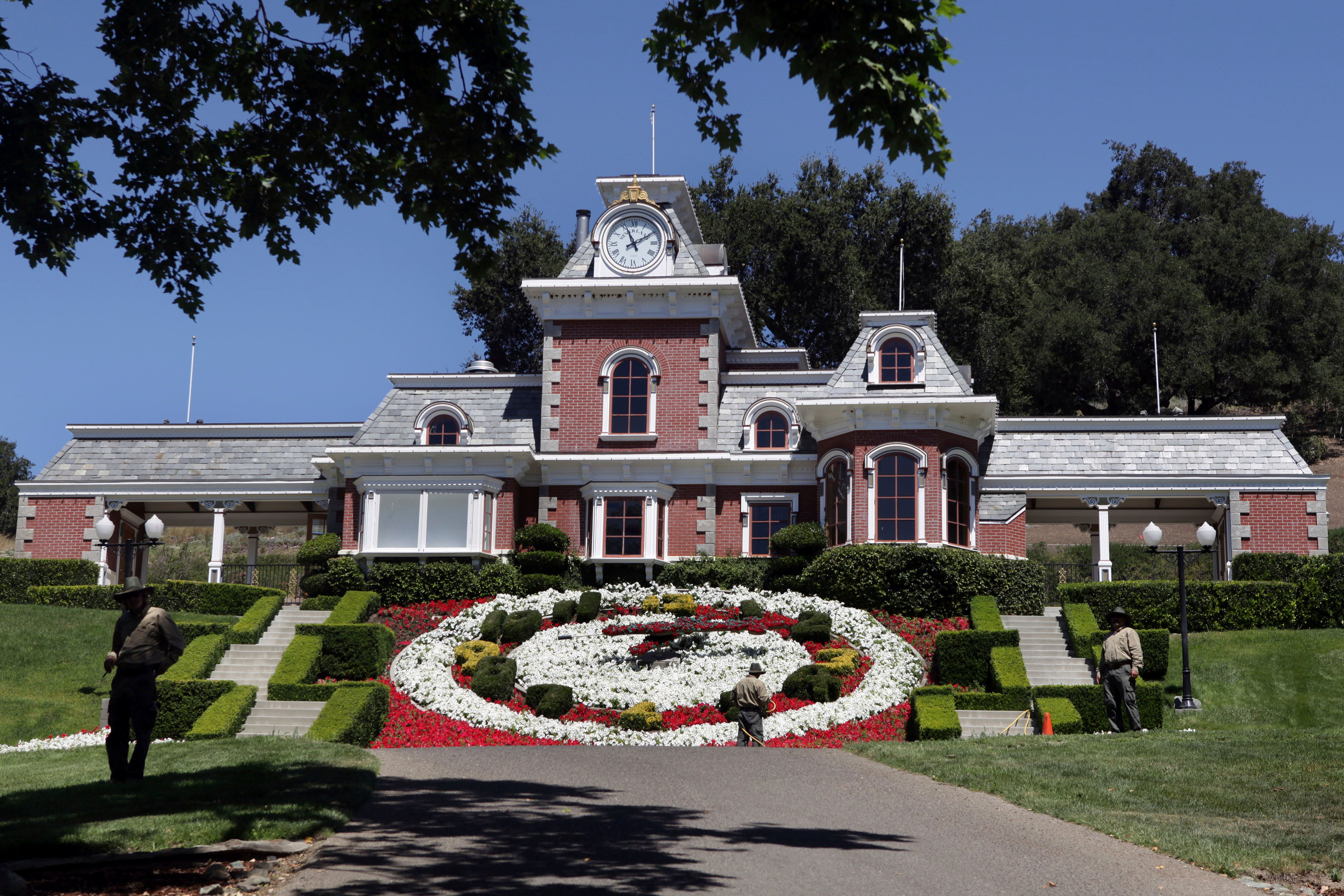 Neverland Ranch in 2009.