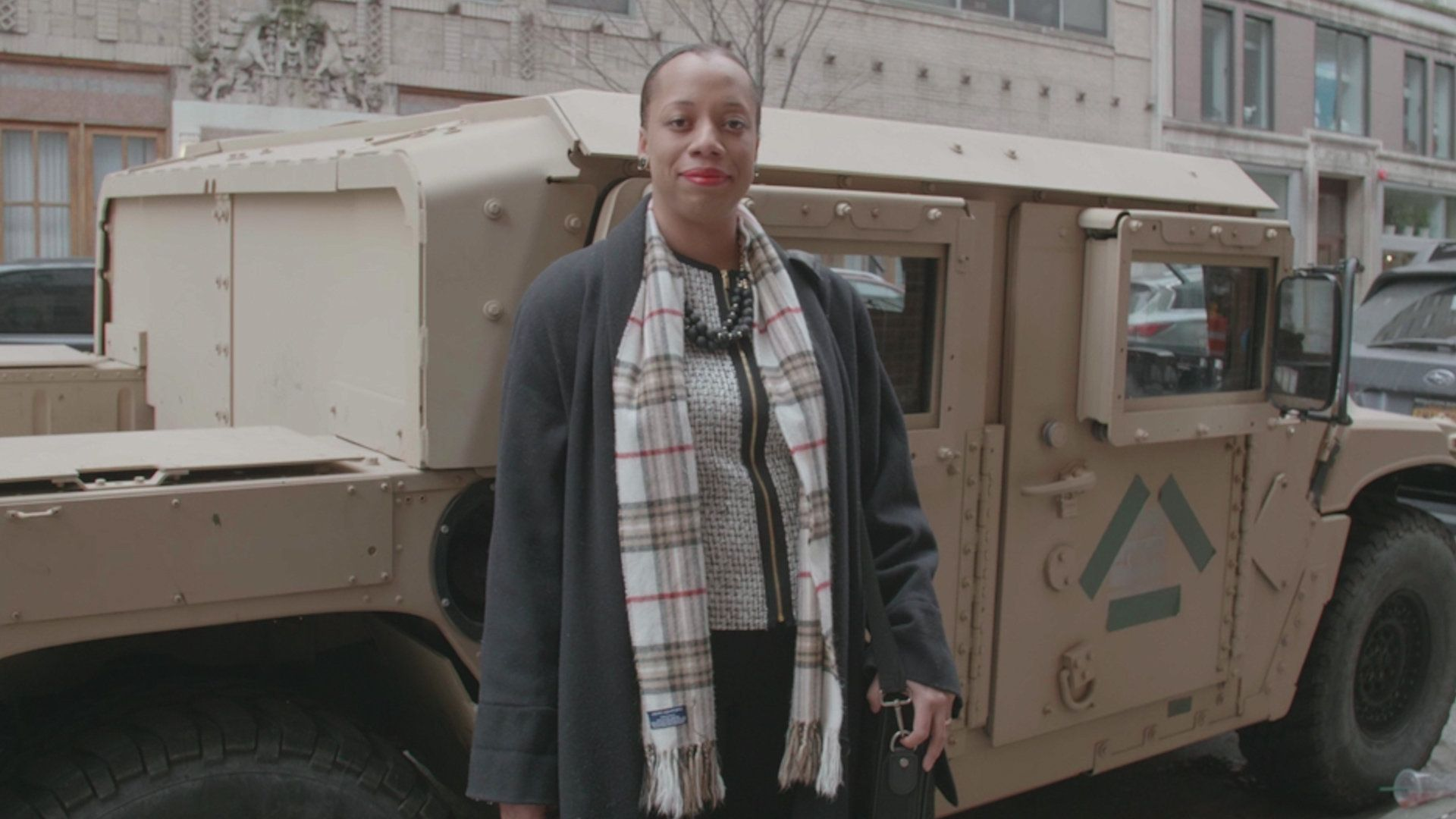 Veteran Asha C. Castleberry has been fighting for more visibility for women of color vets back home.
