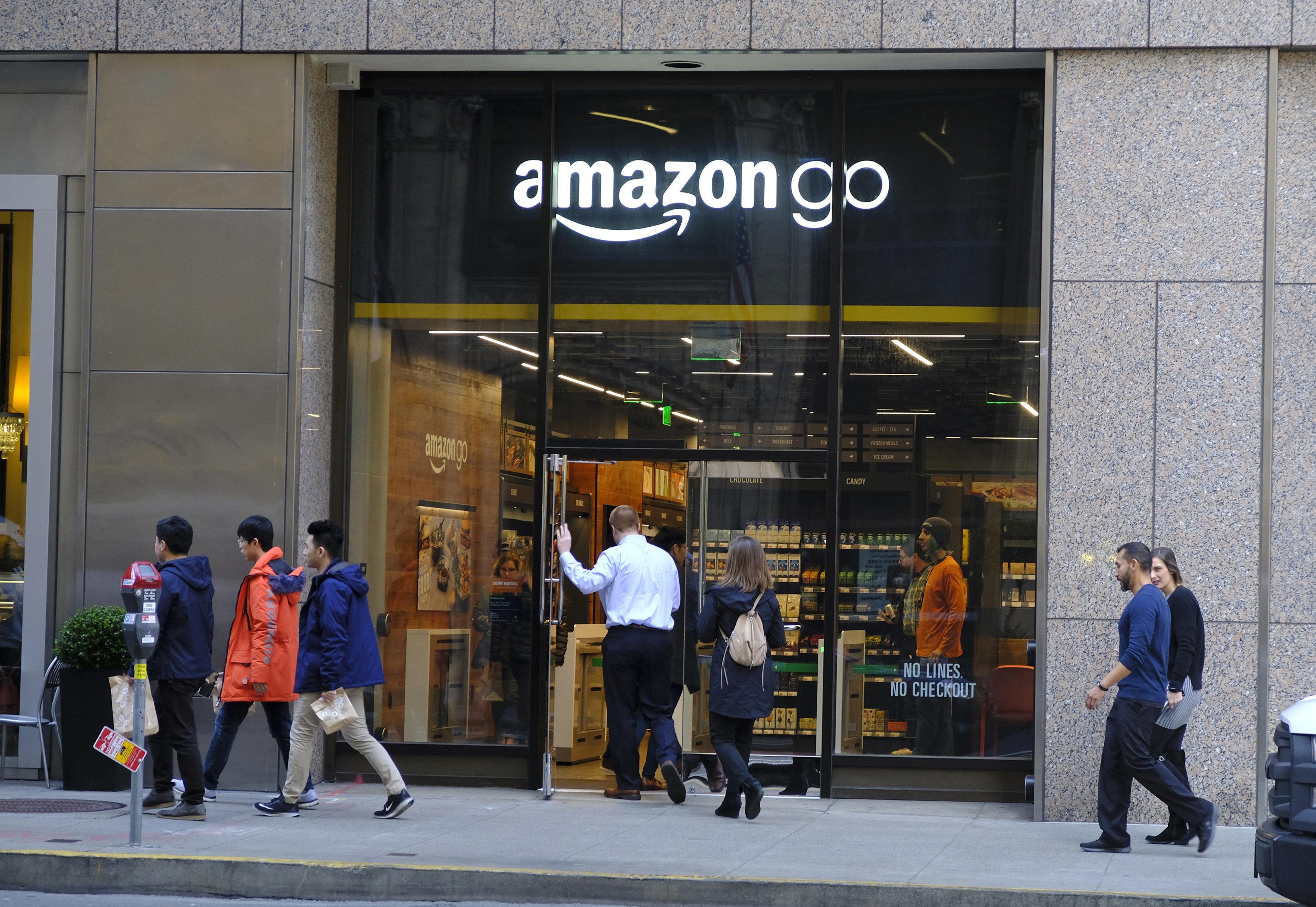Amazon: Τώρα και σούπερ μάρκετ στη γειτονιά σας! (...εντάξει, στην Αμερική για