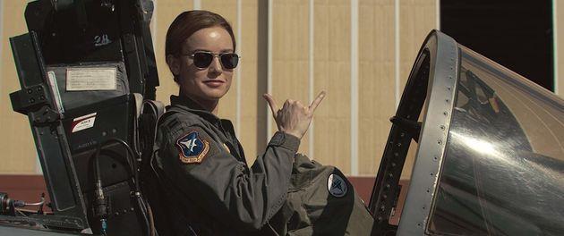 Brie Larson interpreta Capitão Marvel nos