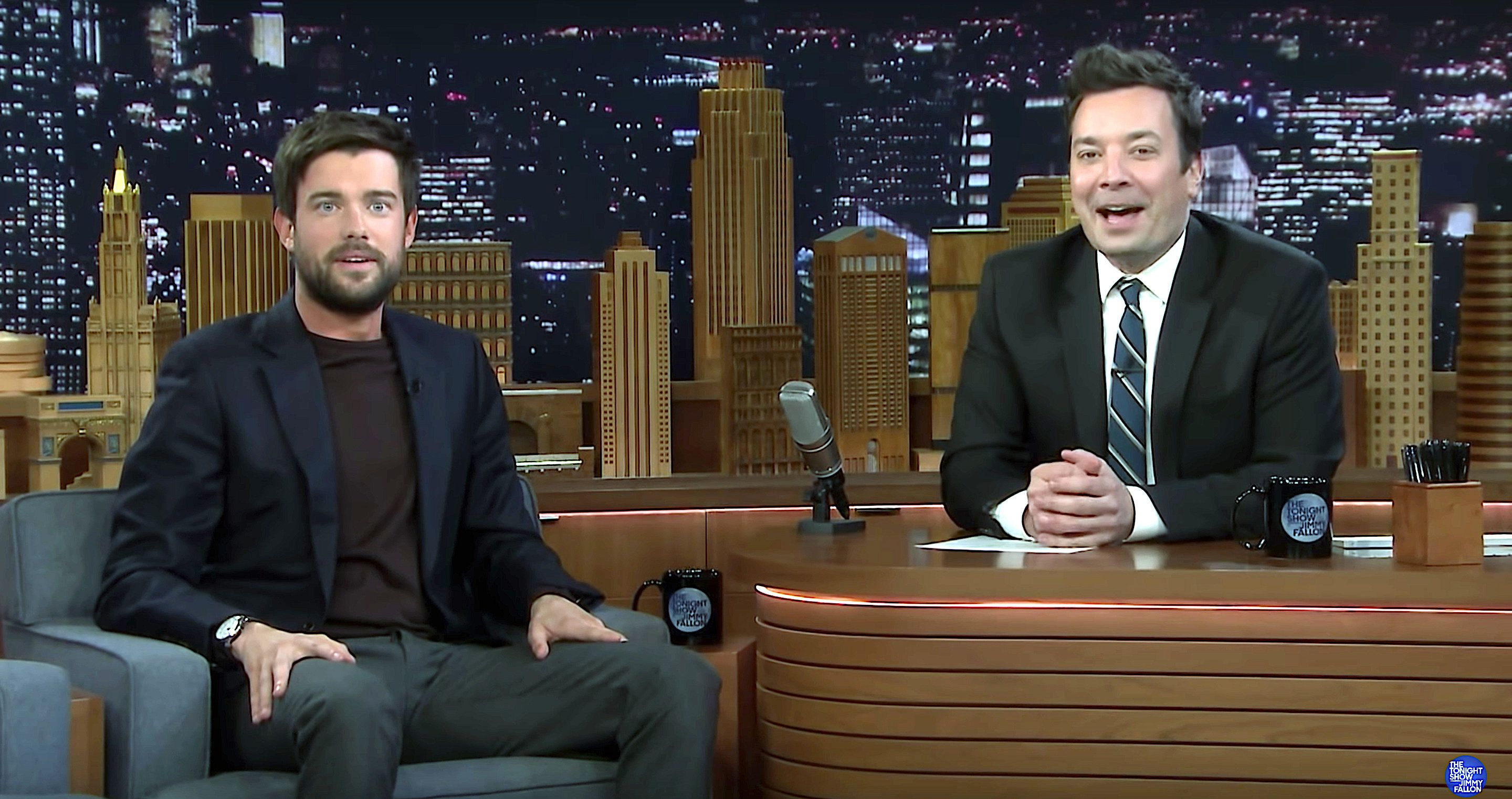 Jack Whitehall and Jimmy Fallon