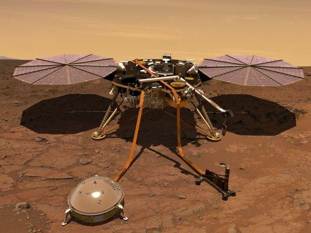 Το InSight άρχισε το σκάψιμο στον Άρη - Πρώτες ενδείξεις για υπόγειες αρχαίες