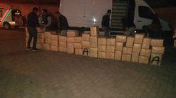 Trafic de drogue: deux arrestations et saisie de 2 tonnes et 328 kg de haschich