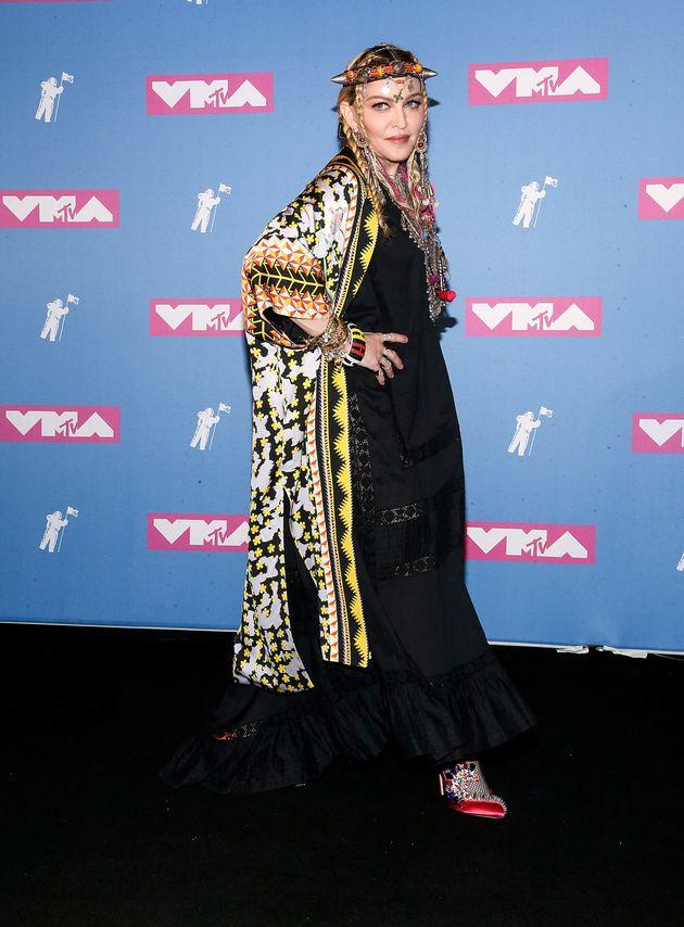 Madonna at the VMAs last