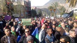 Marche de citoyens et avocats contre le 5e mandat à