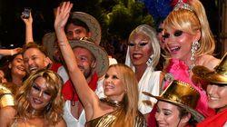 Εμφάνιση - έκπληξη της Κάιλι Μινόγκ στο Gay & Lesbian Mardi Gras του