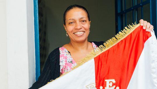 Rose Marcondes, a presidente da mais antiga escola de samba ativa em
