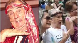 O eterno 'Seu Peru' ganhou uma linda homenagem (e marcou presença) no Carnaval do