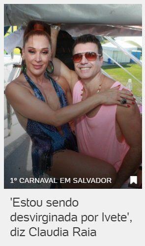 8 manchetes bizarras que o Carnaval 2019 já nos