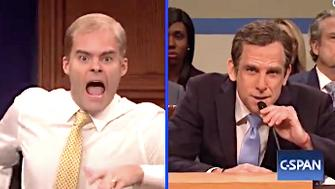 Bill Hader is Jim Jordan on SNL