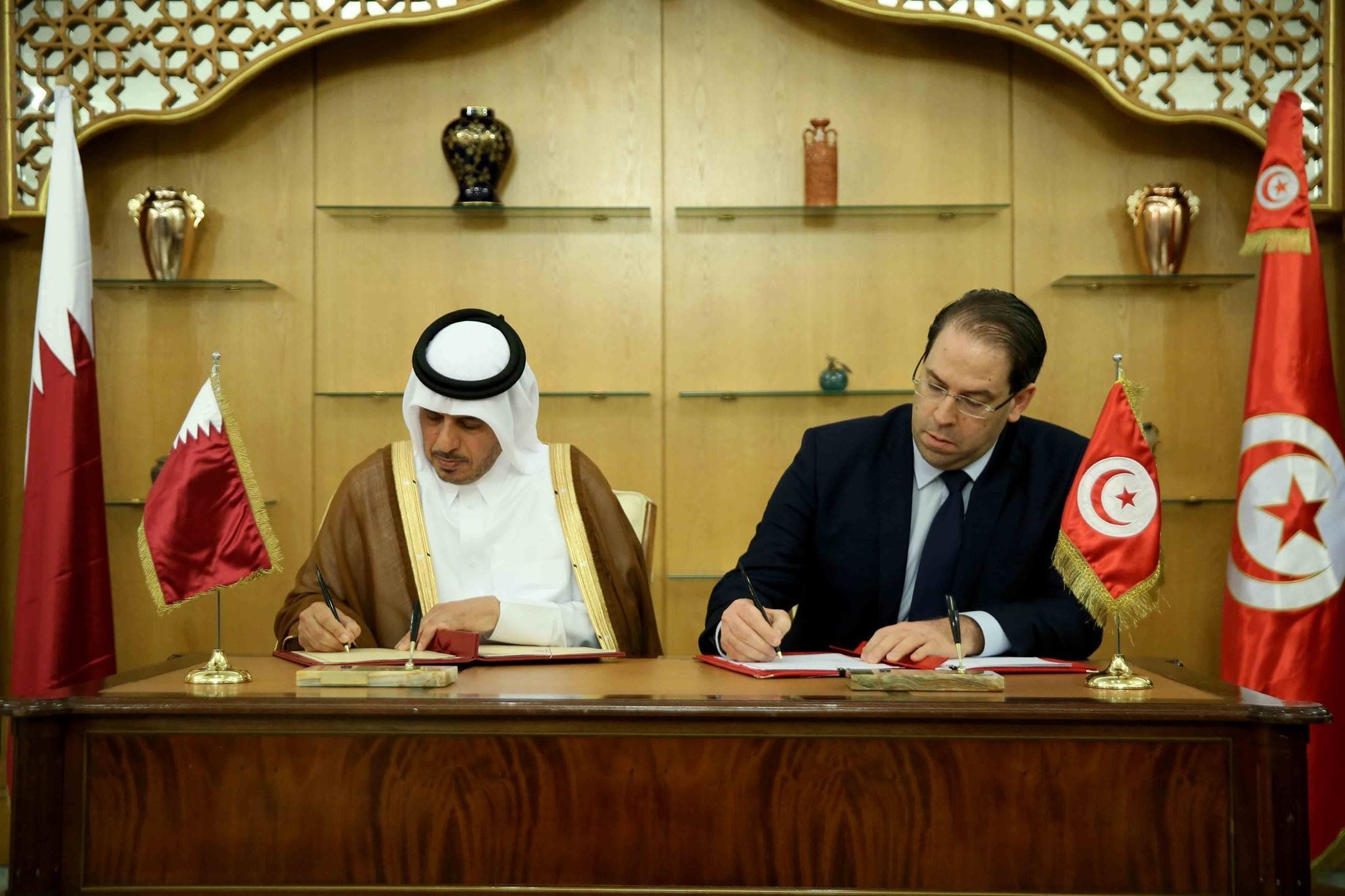 Signature de 10 accords et mémorandums d'entente entre la Tunisie et le