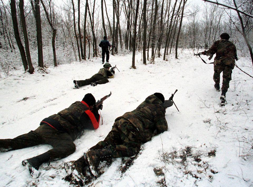 Κοσοβάροι αντάρτες...