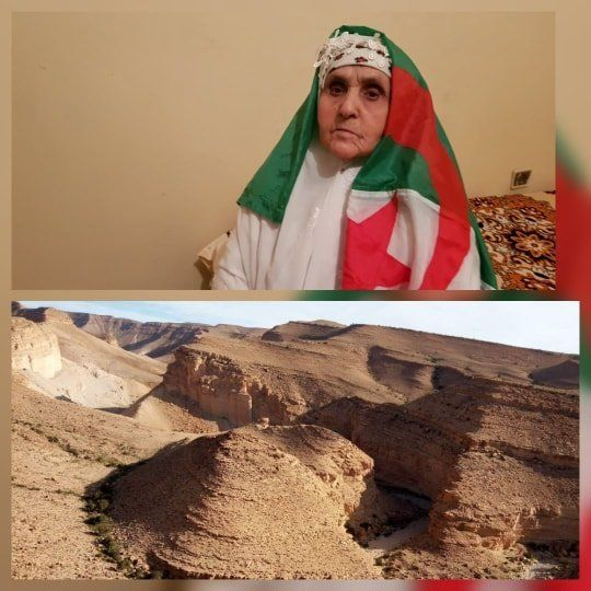 De la citadelle de Novembre 54, Khalti Hafsia de tout coeur avec les