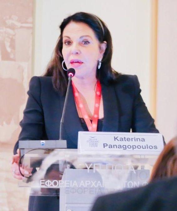Οικονομικό Φόρουμ Δελφών: Ομιλία της Κατερίνας Παναγοπούλου για τον Οικουμενικό