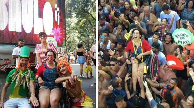 Bloco da Mari ensina que o Carnaval pode ser, sim, uma festa