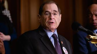 Rep. Jerrold Nadler (D-NY), speaks during a news conference to introduce H.R. 4, Voting Rights Advancement Act, on Capitol Hill in Washington, DC, on Tuesday, Feb. 26, 2019. (Photo by Cheriss May/NurPhoto via Getty Images)