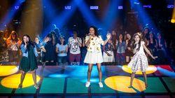 Elas arrasaram ao cantar o refrão de 'Ragatanga' no 'The Voice