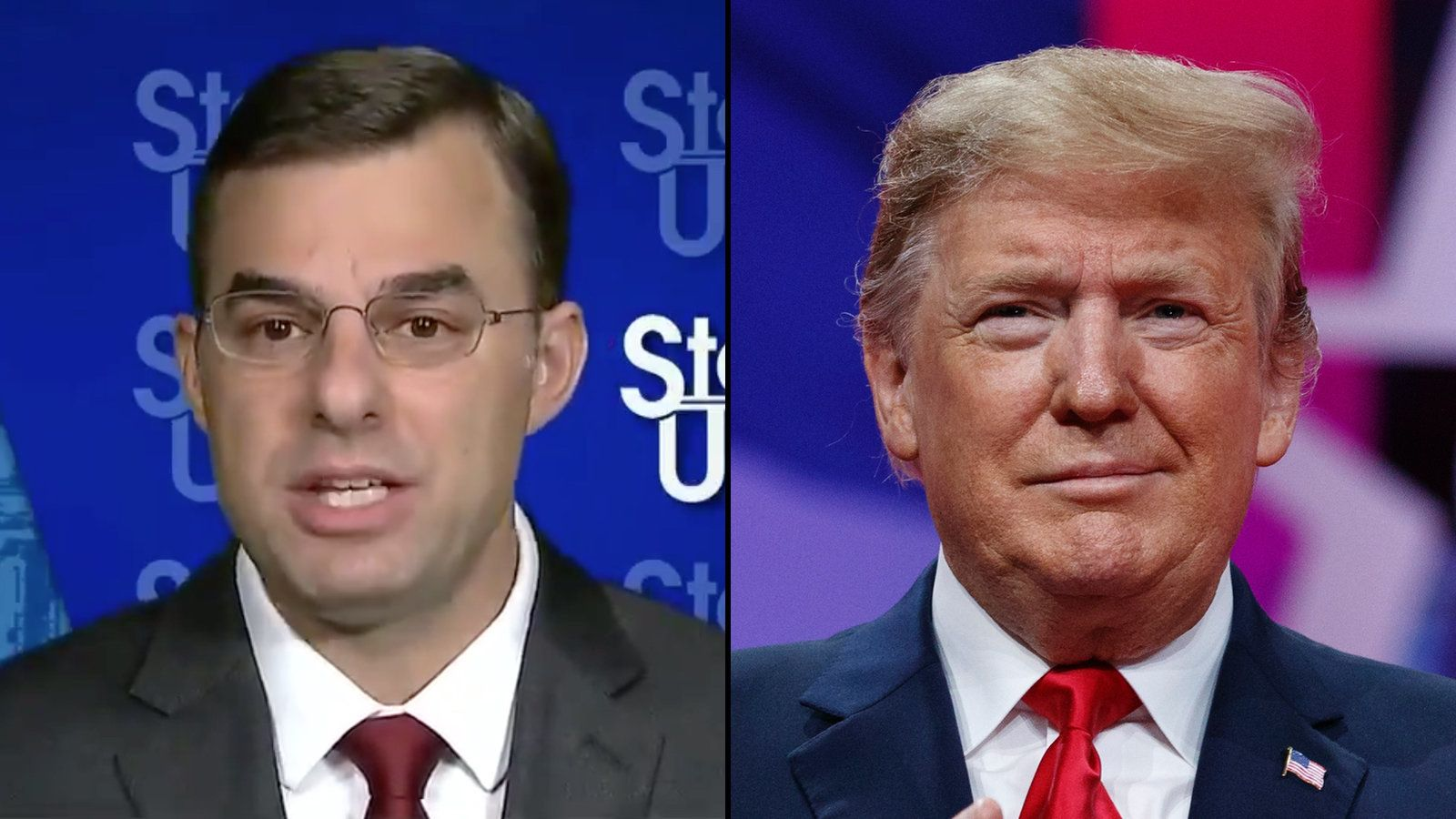 Justin Amash, Donald Trump