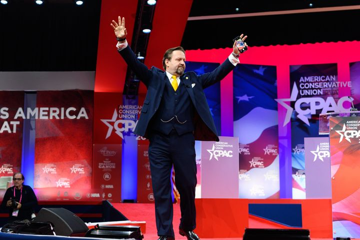 Sebastian Gorka appears at CPAC.