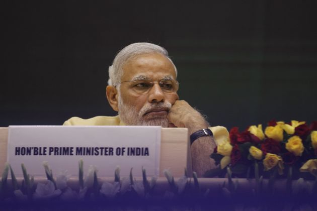 Prime Minister Narendra Modi at the launch of the National Skill Development Mission on July 15, 2015...