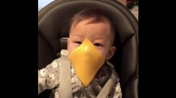 People Are Throwing Cheese Slices At Babies In Ridiculous New Viral