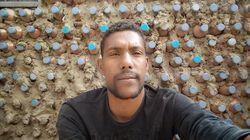 Tatah Lehbib, l'entrepreneur écologique en visite à