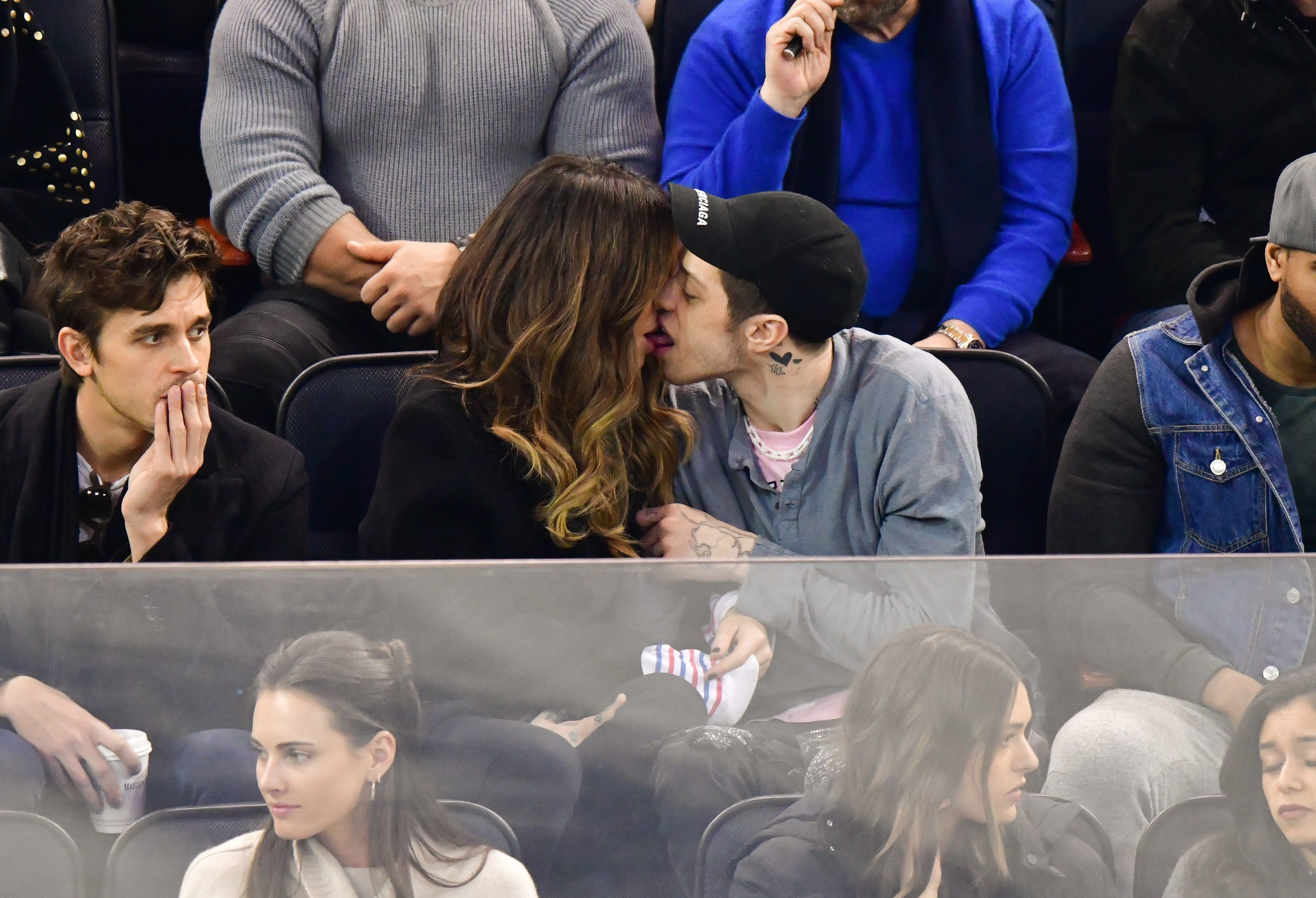 Pete Davidson and Kate Beckinsale confirm their romance