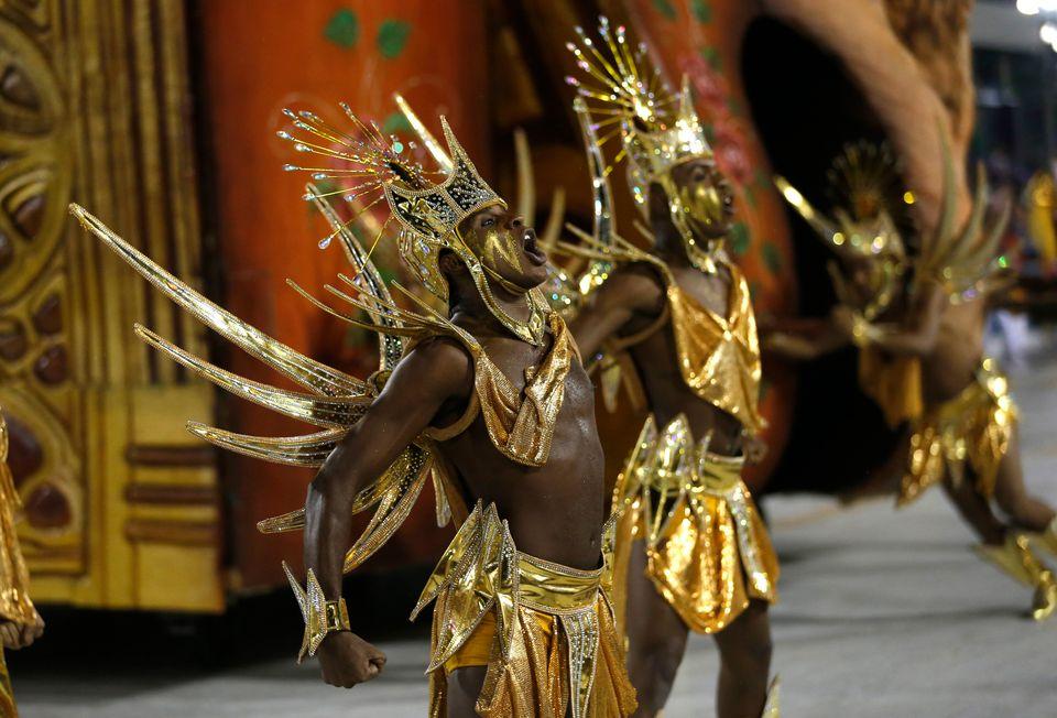 Carnaval do Rio traz diversas referências à cultura negra na