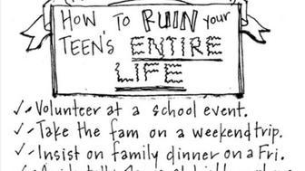 Annie Kurzweg captures what it's like to raise teens through cartoons.