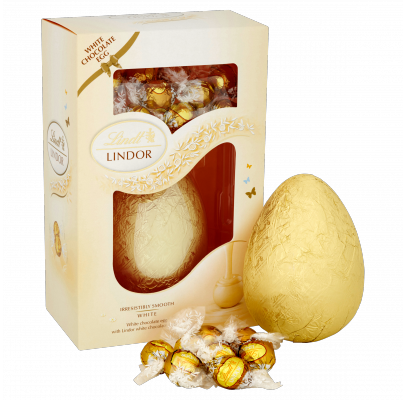 Lindts White Chocolate Easter Egg Has Been Voted The Best