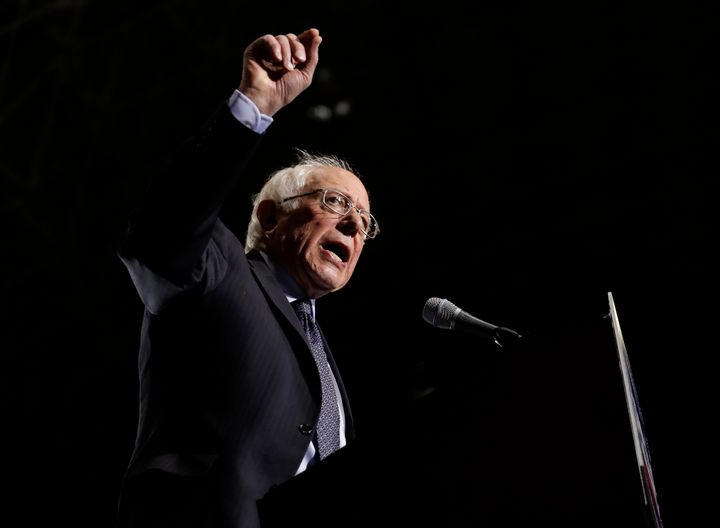 Sen. Bernie Sanders took his campaign for the 2020 Democratic presidential campaign to Chicago on Sunday, wher