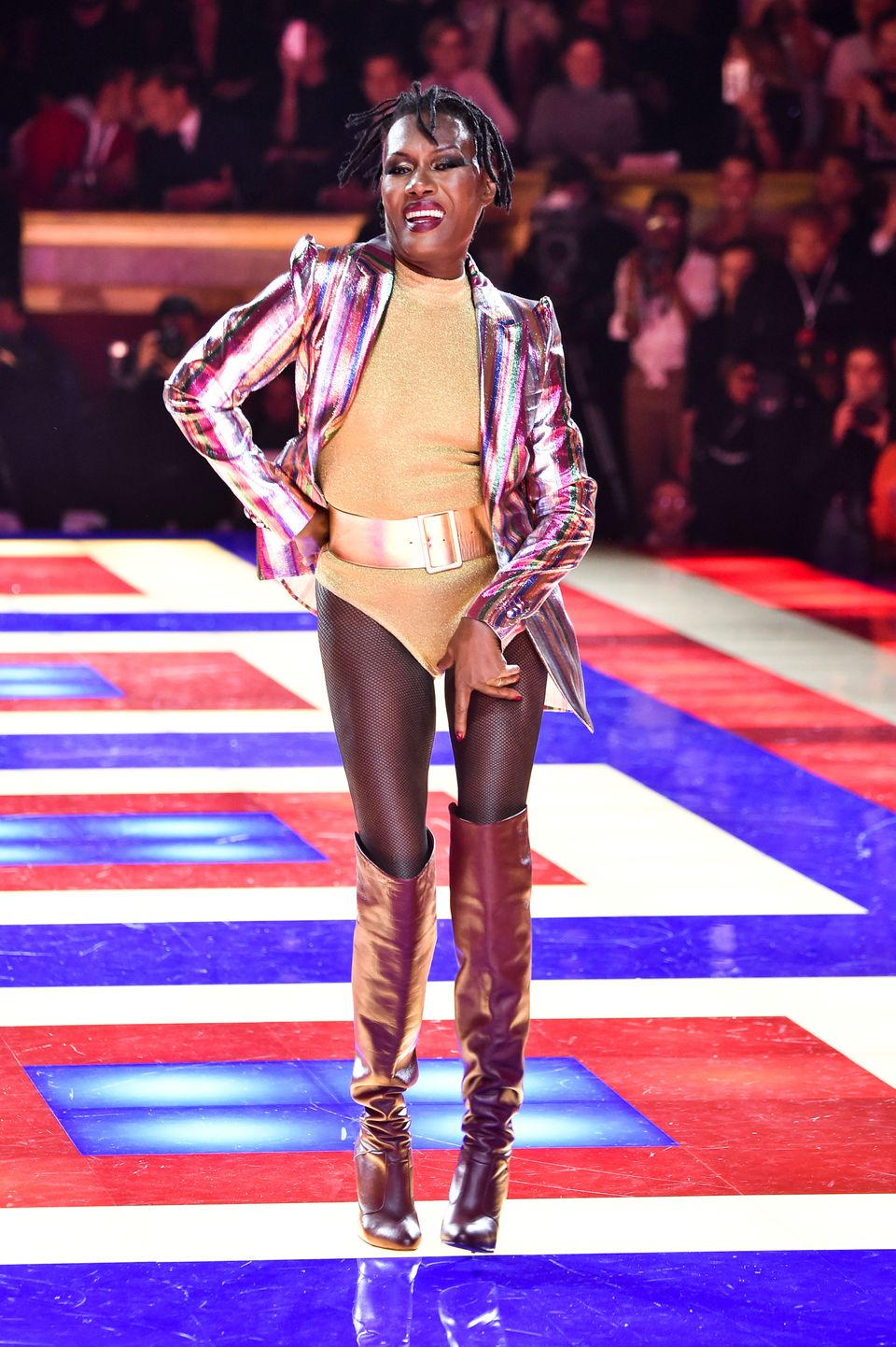 dce77400 Tommy Hilfiger And Zendaya Cast All Black Models For Runway Show ...