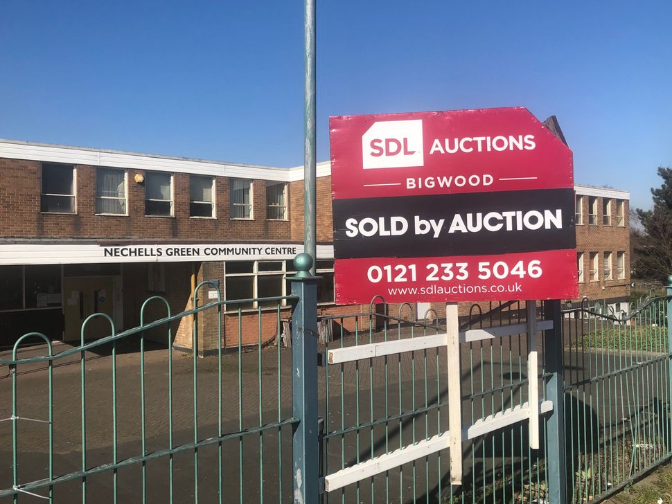 Nechells Green Community Centre, which was sold by auction in January