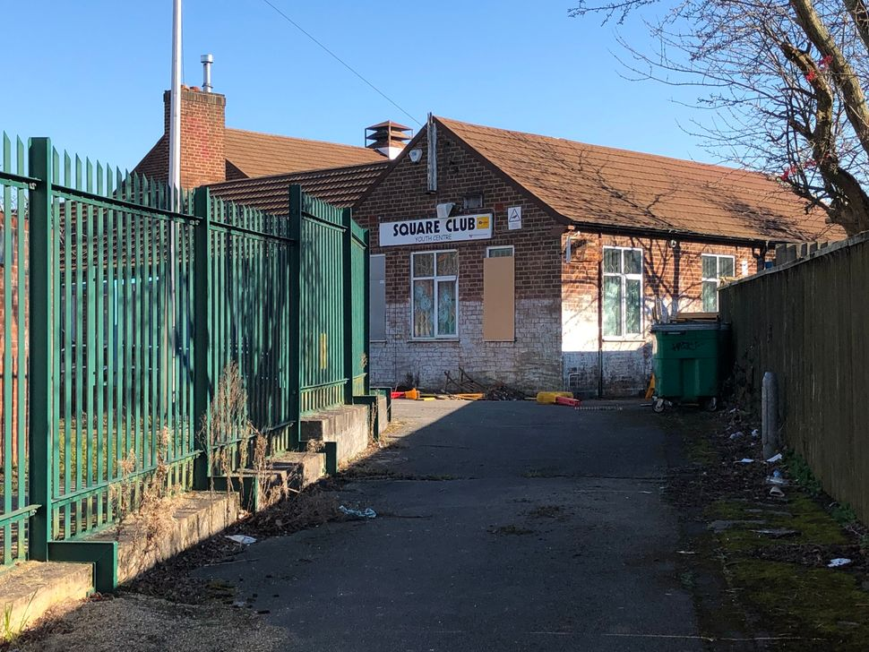 The Square Club Community Centre remains derelict after being sold