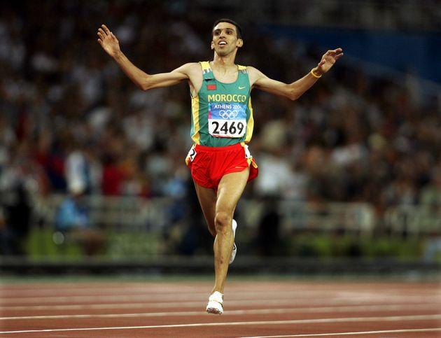 Hicham El Guerrouj perd un second record du monde vieux de plus de 22