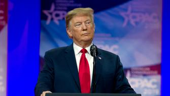 President Donald Trump speaks at Conservative Political Action Conference, CPAC 2019, in Oxon Hill, Md., Saturday, March 2, 2019. (AP Photo/Jose Luis Magana)