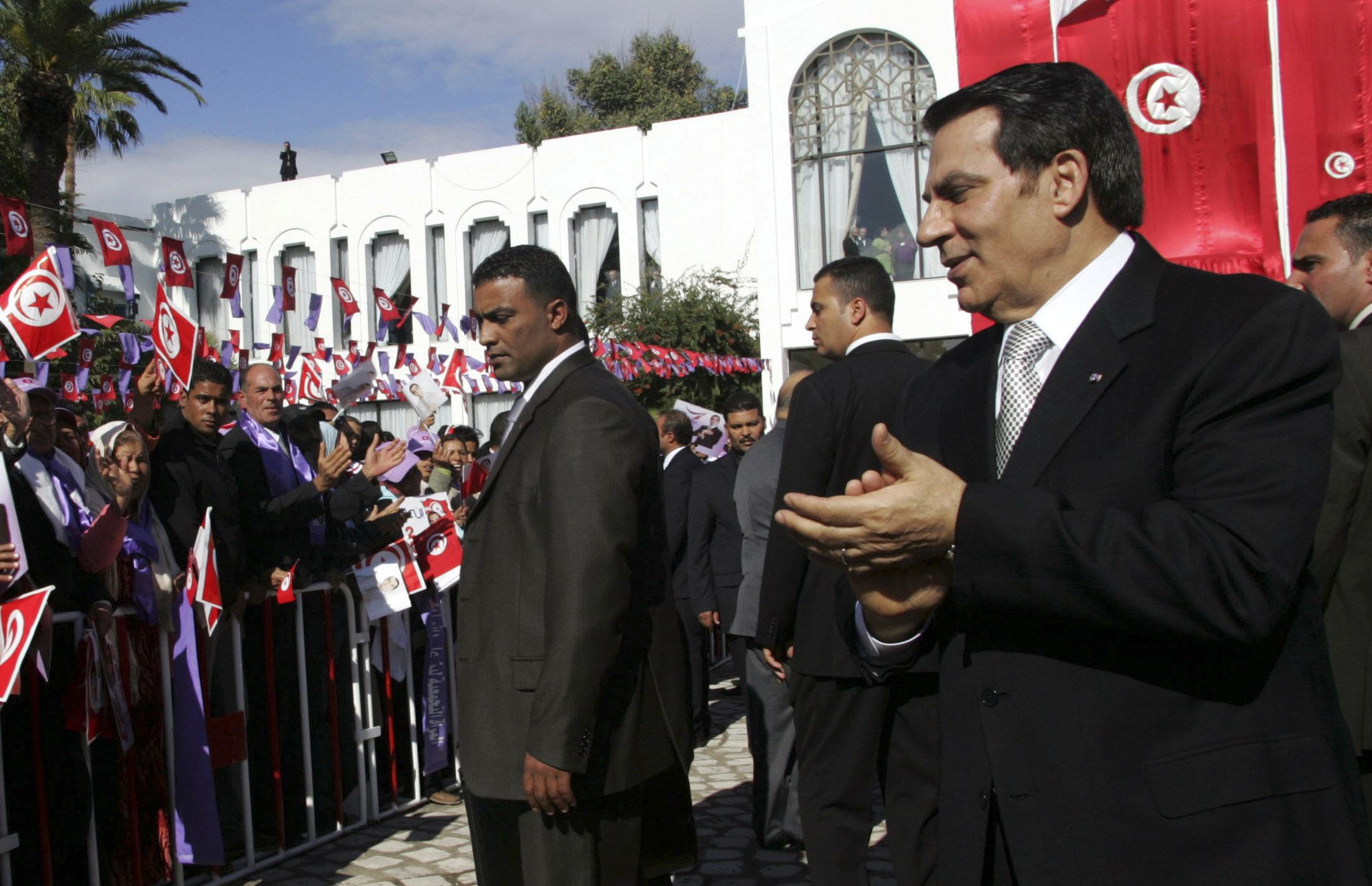 Tunisie: Ben Ali est