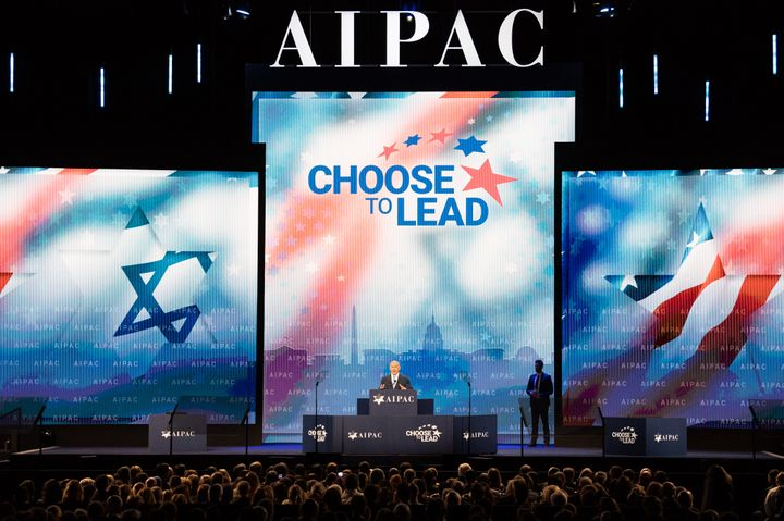 AIPAC's policy conference draws high-profile speakers including Israeli Prime Minister Benjamin Netanyahu.