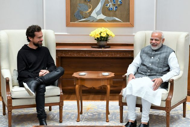 Prime Minister Narendra Modi met Twitter CEO Jack Dorsey in November 2018. Both tweeted about the meeting...