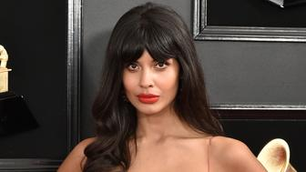 LOS ANGELES, CALIFORNIA - FEBRUARY 10: Jameela Jamil attends the 61st Annual Grammy Awards at Staples Center on February 10, 2019 in Los Angeles, California. (Photo by David Crotty/Patrick McMullan via Getty Images)