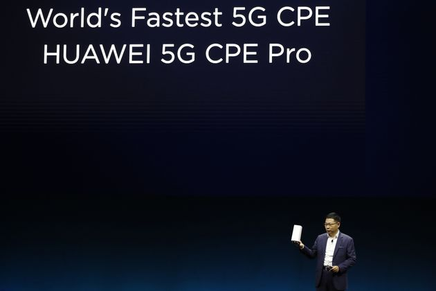 화웨이는 5G 네트워크 통신장비 분야에서 세계 최고의 기술력을 확보한 것으로