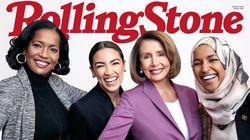 ローリングストーン誌 「未来を築く女性たち」女性議員4人の表紙がかっこいい!