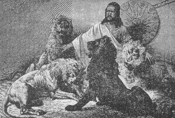 Ο αυτοκράτορας Θεόδωρος Β' της Αιθιοπίας.