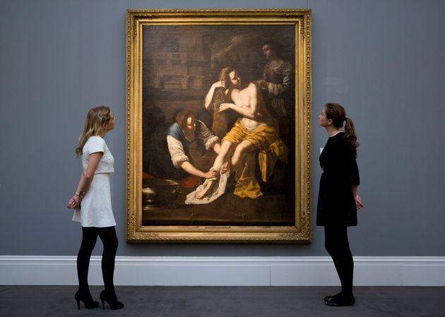 Νέος πίνακας της Τζεντιλέσκι κάτω από την «Αγία Αικατερίνη των