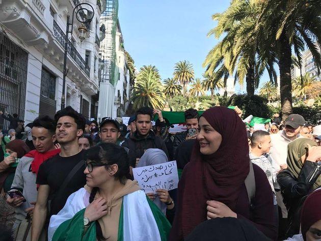 La manifestation des étudiants en