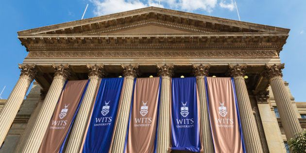 Johannesburg, South Africa - February, 22nd 2015: Great Hall on East campus at Wits University seen close...