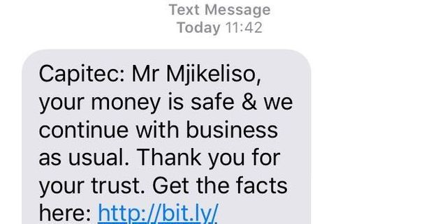 Capitec Bank: 'Your Money Is Safe With