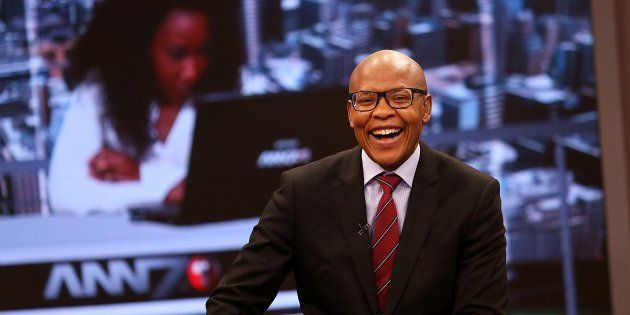 The New Age and ANN7 proprietor Mzwanele Manyi during the announcement on the shareholding of his company...