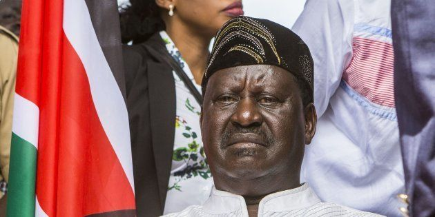 Kenya Has Two Presidents, As Odinga Swears Himself In